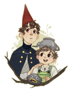 Wirt and Greg - Over the Garden Wall fan art
